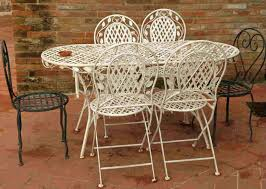 White metal patio chairs Black Metal Metalpatiochairsvintagecastironpatiofurniture Footymundocom Patio Stunning Metal Patio Chairs Antique Wrought Iron Patio