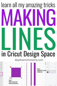 Log into your design space account. How To Add A Solid Line In Cricut Design Space Thin And Thick Cricut Design Cricut Cricut Tutorials
