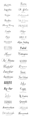 Best Calligraphy Fonts For Weddings 50 Hand Lettered Fonts