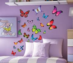 image of butterfly wall decals set on colorful wall art for nursery with butterfly wall decals set every beauty talks interesting nursery