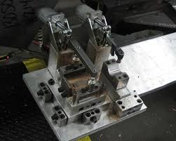 V Block Fixture Design This Fixture Shows Rapid Blocks And Shims Used To Fine Tune