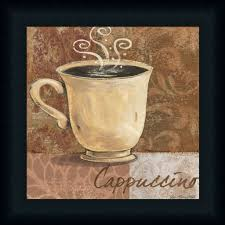 Coffee Decor For Kitchen Kitchen Alluring Coffee Kitchen Decor Beige Cappuccino Drawing In