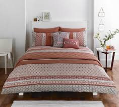 kalisha bedding set in spice  free uk delivery  terrys fabrics