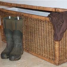 large wicker storage trunk. Simple Trunk Large Cane Wicker Storage Trunk With H