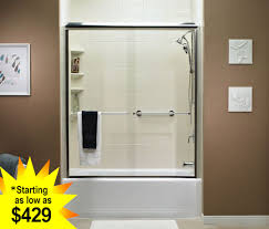 semi frameless standard door