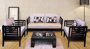get modern plete home interior with 20 years durability teak wood sofa set d or