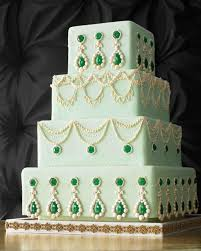 Piped Wedding Cakes Martha Stewart Weddings