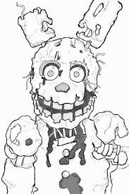 Five Nights At Freddy Coloring Pages Elegant Five Nights At Freddys