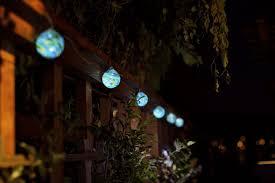 Aurora Glow Sea Glass Solar String Lights Allsop Home Garden