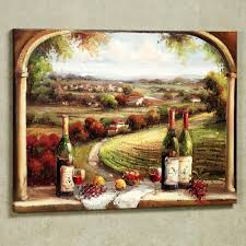 charming delightful vineyard wall decor kitchen decorations inspiration fabulous country and wine bottles wall decoration