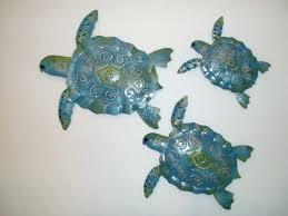 metal turtle wall art outdoor