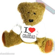 image is loading i love my grandad novelty gift teddy bear
