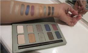 swatch stila garden eyeshadow palette other than availability