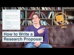 Sample Proposal Essay Outline