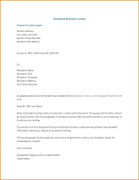 Official Letter Format Australia Structure And Layout Of Business Letter Luxury 5 Clear Easy