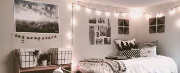 decorate your dorm room with lights