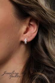 Huggie Hoop Earrings Size Chart Diamond Huggie Earrings Diamond Huggies Huggie Hoop