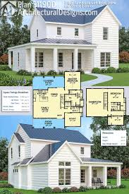 Stone Farmhouse Designs Plan 31190d 3 Bed Farmhouse With Brick Stone And Stucco
