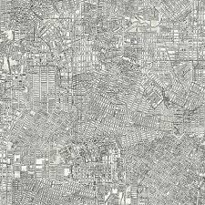 Black Pattern Wallpaper Custom Black White Contemporary Wallpaper Contemporary Wallpaper