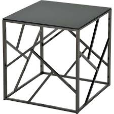 black metal accent table black glasetal accent table round black metal accent table