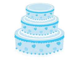 blue wedding cake clipart. Plain Wedding And Blue Wedding Cake Clipart W