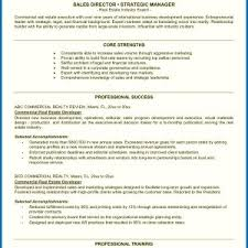 Sample Resume Real Estate Marketing Executive Fresh Real Estate ...