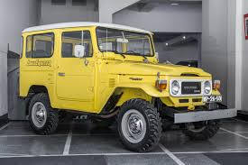 1984 Toyota BJ40 - Land Cruiser   Classic Driver Market