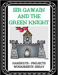sir gawain and the green knight by creative classroom core tpt sir gawain and the green knight