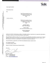 Ue910n3 3g Module Cover Letter 07a_cover Letter_authorisation Letter