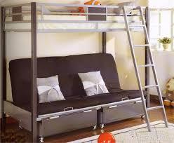 metal bunk bed futon. Cletis Silver \u0026 Dark Gray Twin Futon Bunk Bed Metal