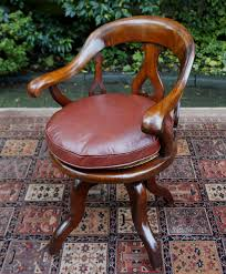 antique swivel office chair. Antique Swivel Seat Desk Chair Office