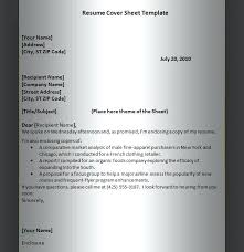 cover page examples for resume resume cover sheet examples jalcine me