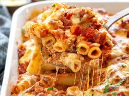baked ziti with meat sauce jessica gavin