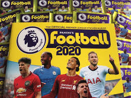 Panini Football 2020 Premier League Stickers Collection