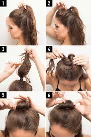Your Perfect Hair Style 16 genius half bun hacks you need to know about half bun bun 1609 by stevesalt.us