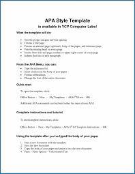 Free Editable Apa Style Template 4081