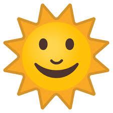 """Résultat de recherche d'images pour """"soleil emoticon"""""""