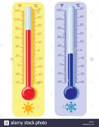 Fahrenheit To Celsius Thermometer Chart Fahrenheit Thermometer Stock Photos Fahrenheit Thermometer