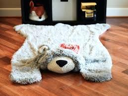 bear rug fake fake bear rug for nursery fake polar bear skin rug with head