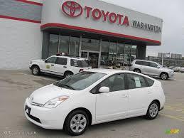 2005 Super White Toyota Prius Hybrid #19756343 | GTCarLot.com ...