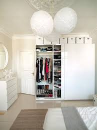 Wardrobe with storage boxes above, hanging storage and shelves | BR Ideas |  Pinterest |