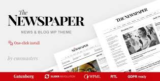 Newspaper Editorial Template The Newspaper V1 0 6 News Magazine Editorial Wordpress