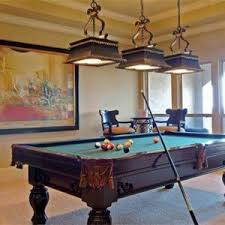 unique pool table lights billiard room lighting