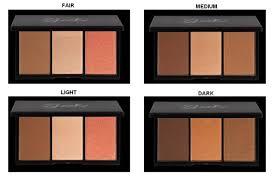 brand sleek face form palette kit