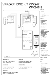 videx 800 series wiring diagrams videx 836m series audio wiring diagram 1 x entrance 836m 1 849