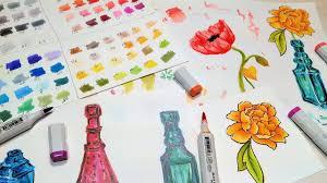 Blick Marker Color Chart Blick Studio Brush Marker Review