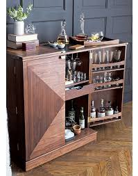 mini home bar furniture. Maxine Bar Cabinet :: Crate And Barrel Mini Home Furniture M