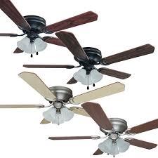 hugger ceiling fans with light kit dlrn design finest commercial led lights fan sloped lighting adapter