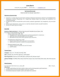 software developer resume senior software developer resume samples  software