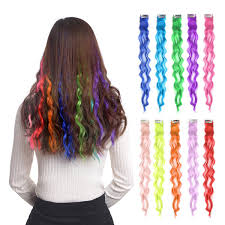 Multi Colored Hair Extensions Clip Best